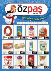 Özpaş Market 25 Aralık 2018 - 08 Ocak 2019 Kampanya Broşürü! Sayfa 1