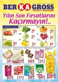 Grup Ber-ka Market 21 - 27 Aralık 2018 Kampanya Broşürü! Sayfa 1