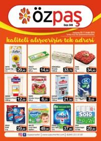 Özpaş Market 03 - 17 Aralık 2018 Kampanya Broşürü! Sayfa 1