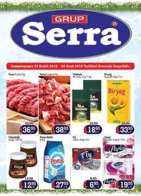 Serra Market 29 Aralık 2018 - 06 Ocak 2019 Kampanya Broşürü! Sayfa 1