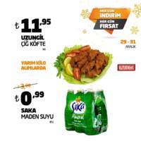 Akyurt Süpermarket 29 - 31 Aralık 2018 Fırsat Ürünleri Sayfa 1