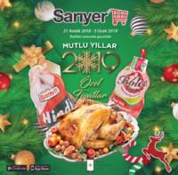 Sarıyer Market 21 Aralık 2018 - 03 Ocak 2019 Kampanya Broşürü! Sayfa 1
