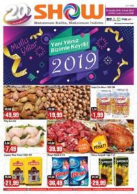 Show Hipermarketleri 21 Aralık 2018 - 02 Ocak 2019 Kampanya Broşürü! Sayfa 1
