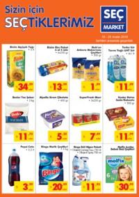 Seç Market 19 - 25 Aralık 2018 Kampanya Broşürü! Sayfa 1