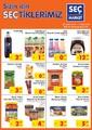 Seç Market 26 Aralık 2018 - 01 Ocak 2019 Kampanya Broşürü! Sayfa 1