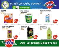 Ova Market 09 - 15 Ocak 2019 Fırsat Ürünleri Sayfa 1