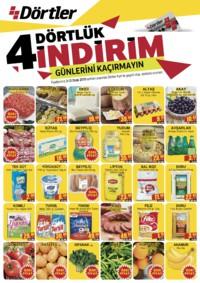 Dörtler Market 03 - 13 Ocak 2019 Kampanya Broşürü! Sayfa 1