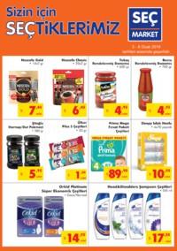 Seç Market 02 - 08 Ocak 2019 Kampanya Broşürü! Sayfa 1