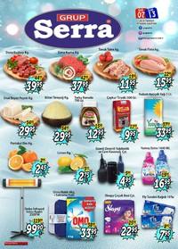 Serra Market 07 - 13 Ocak 2019 Kampanya Broşürü! Sayfa 1