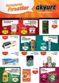Akyurt Süpermarket 04 - 17 Ocak 2019 Kampanya Broşürü! Sayfa 1