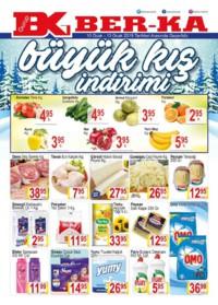 Grup Ber-ka Market 10 - 13 Ocak 2019 Kampanya Broşürü! Sayfa 1