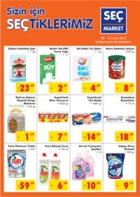 Seç Market 09 - 15 Ocak 2019 Kampanya Broşürü! Sayfa 1