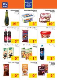 Seç Market 09 - 15 Ocak 2019 Kampanya Broşürü! Sayfa 2
