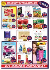 Rota Market 03 - 16 Ocak 2019 Kampanya Broşürü! Sayfa 3 Önizlemesi