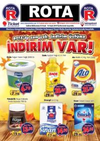 Rota Market 03 - 16 Ocak 2019 Kampanya Broşürü! Sayfa 1