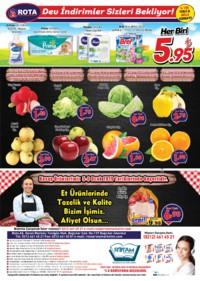 Rota Market 03 - 16 Ocak 2019 Kampanya Broşürü! Sayfa 4 Önizlemesi