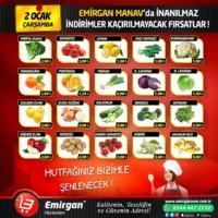 Emirgan Market 02 Ocak 2019 Kampanya Broşürü! Sayfa 1