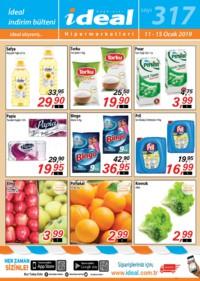 İdeal Hipermarket 11 - 15 Ocak 2019 Kampanya Broşürü! Sayfa 1