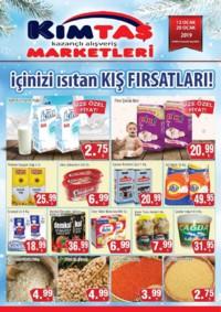 Kimtaş 12 - 17 Ocak 2019 Kampanya Broşürü! Sayfa 1